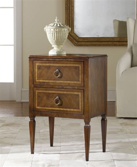 modern history small two drawer commode