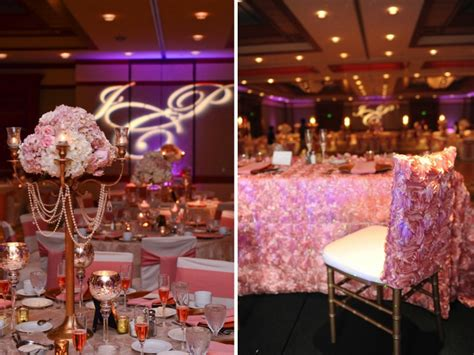 Wedding Theme Idea Pink And Gold Our One 5 by Pink And Gold Florida Wedding Every Last Detail