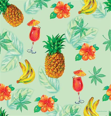 pineapple punch plastic table covers throw a tropical