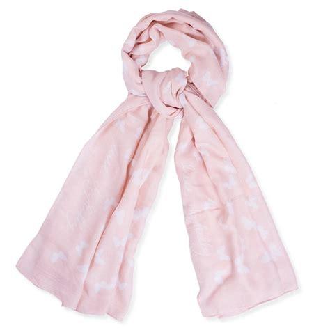 loxton live joyfully light pink scarf lizzielane