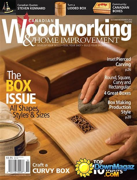 canadian woodworking home improvement 92 october