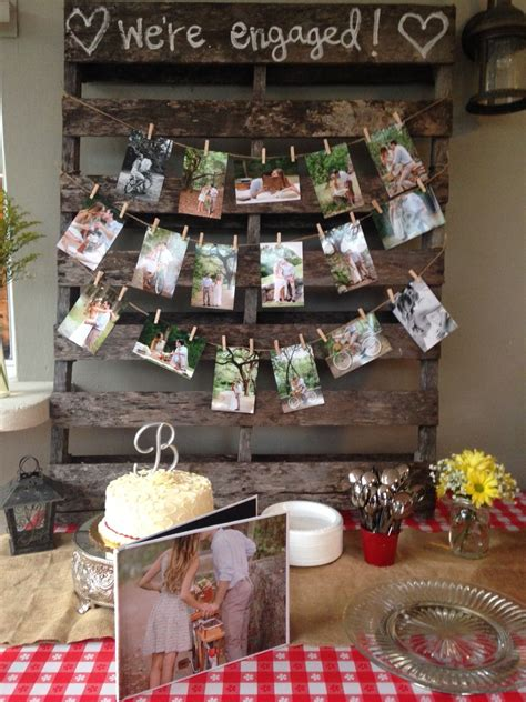 decorations for engagement party at home i do bbq pinteres