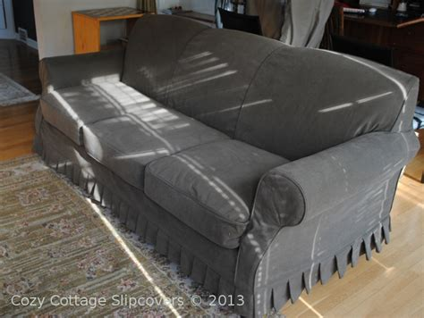 slipcovers for leather couches cozy cottage slipcovers slipcover for leather sofa