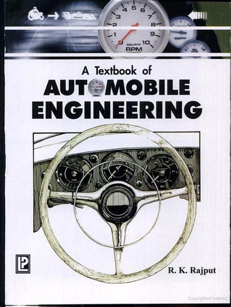 index of engineering books pdf a textbook of automobile engineering by r k rajput