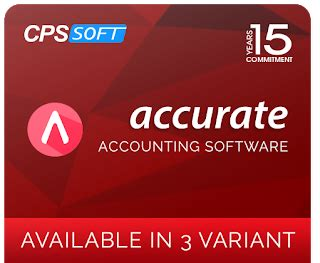 Accurate 5 Software Akuntansi Versi Terbaru 2016 Version teknologi modern yang diaplikasikan dalam software