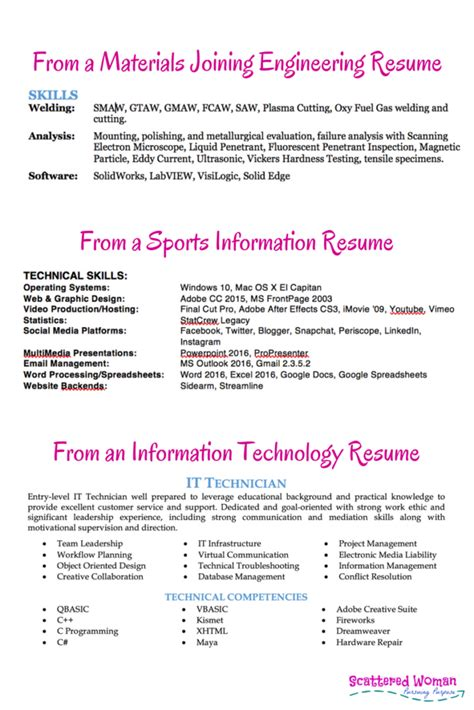 how to use postings to get your resume noticed scattered pursuing purpose