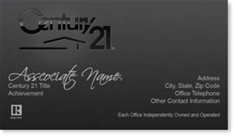 century 21 business cards template 93 best images about century 21 business cards on