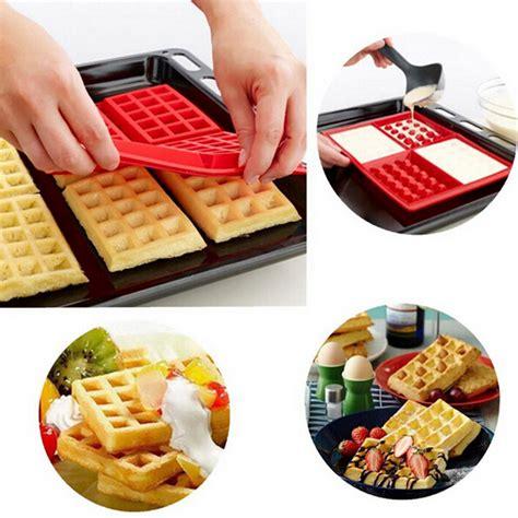 Silicon Tray silicone waffle tray silicone bakeware silicone kitchen