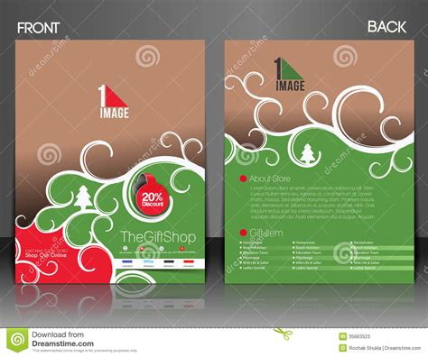 Gift Shop Flyer Stock Photos Image 35663523 Gift Flyer Template