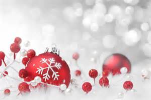 Beach Xmas Decorations Christmas White Background With Red Christmas Balls