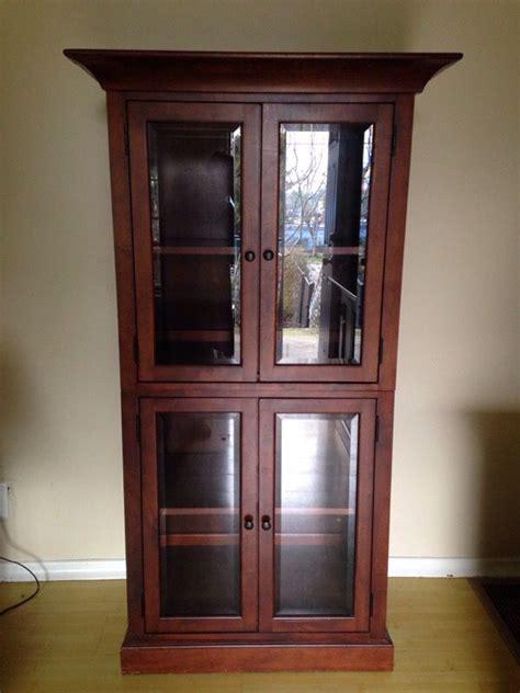 cherry wood china cabinet cherry wood china cabinet furniture in seattle wa