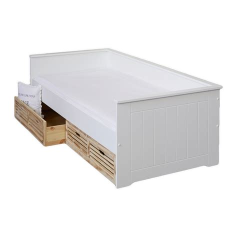 cama nido cama nido 171 paulina 187 90 x 200 cm con cajones jysk