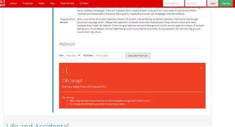 ui pattern error messages website design text emoticon for warning messages user