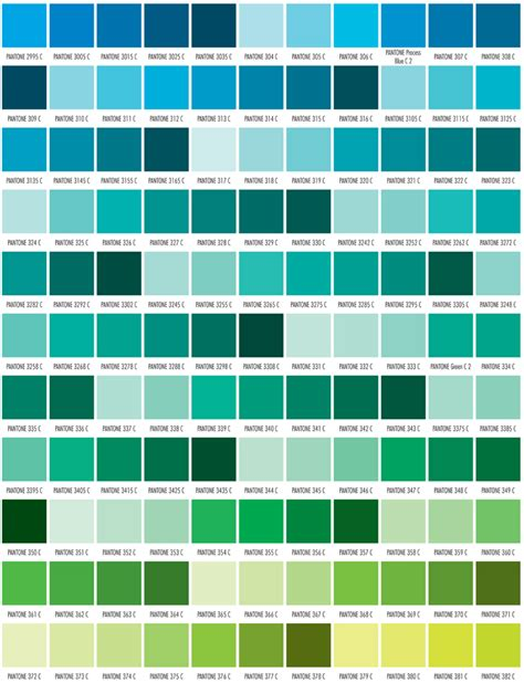 new pantone colors pms color chart