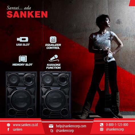 Speaker Aktif Sanken Smx 8000 sanken electronic indonesia