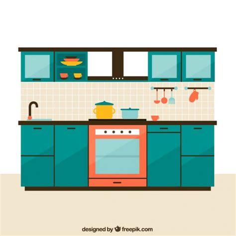Kitchen Vector Kitchen Furniture Vector Free