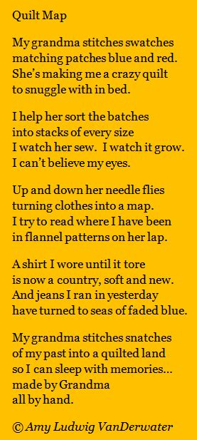 Poems About Quilting by The Poem Farm Quilt Map Spark 18 This Poem Celebrating