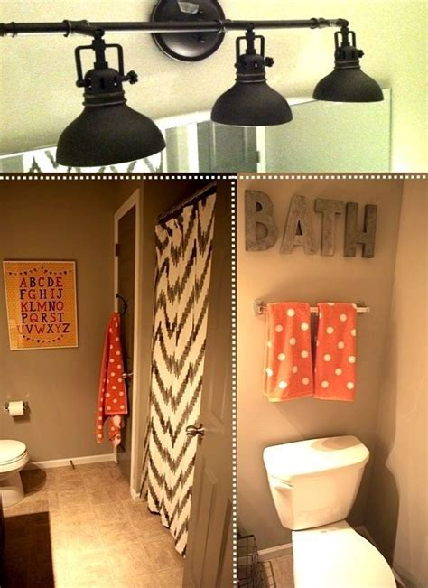 Grey And Coral Bathroom Decor by Gray And Coral Bathroom For The Home