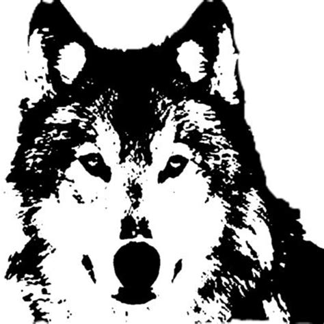 stencils and wolves on pinterest