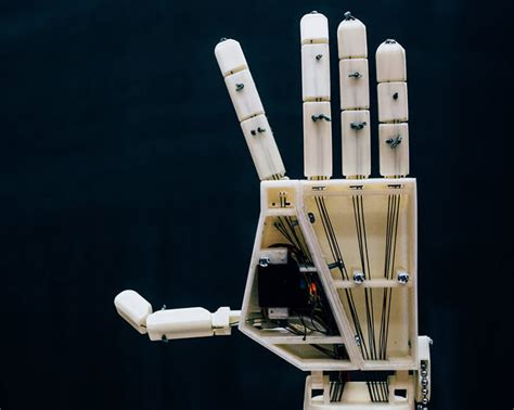 A Sle Speech innovative 3d printed robotic arm can translate speech