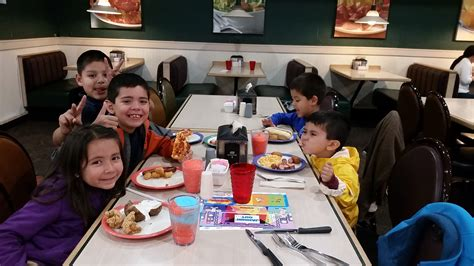 family night at hometown buffet