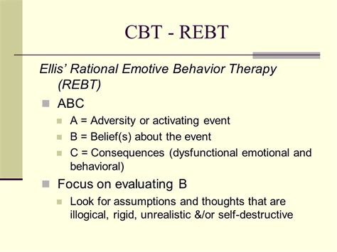 rational emotive behavior therapy in sport and exercise routledge psychology of sport exercise and physical activity books disorders a cbt approach ppt