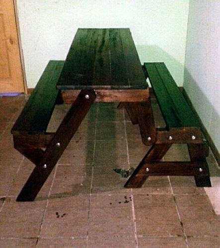 picnic table that turns into a bench 25 best ideas about foldable picnic table on pinterest