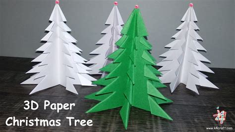 how to make a christmas tree out of dollar bills how to make 3d paper tree 3d tree diy tutorial