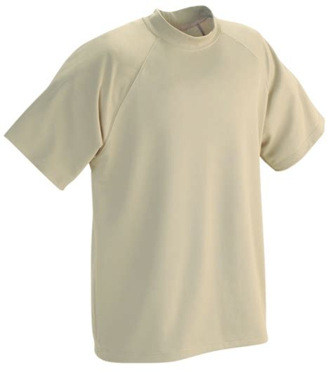 Mock Neck Sleeve T Shirt sumaggo inc leading sportswear manufacturer order