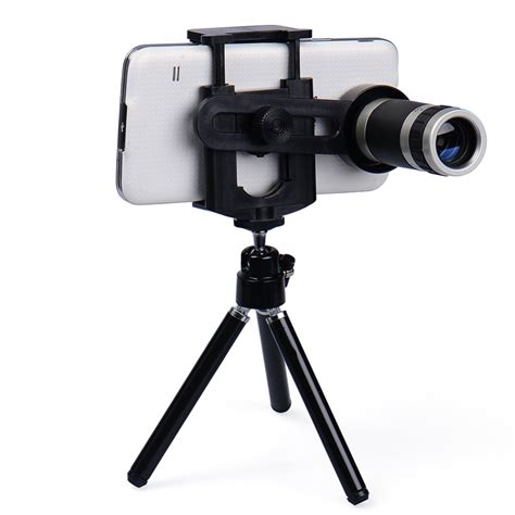 Lensa Telezoom 8 X Zoom universal mobile phone lens 8x zoom telescope telephoto for iphone 6 5s samsung s6 s5 htc lg