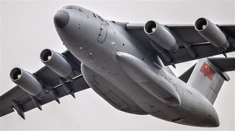 military transport amazing shots of y 20 heavy military transport aircraft