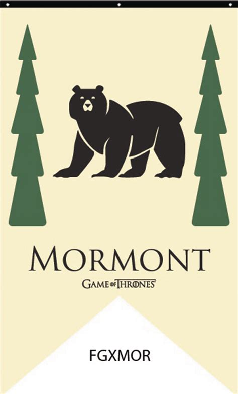 House Mormont by May168696 Of Thrones House Mormont Banner