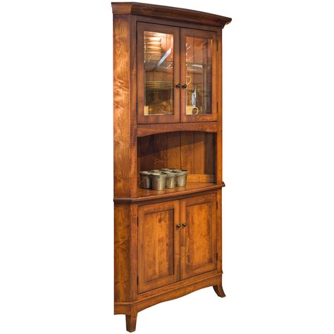 Corner Hutch Dining Room Furniture by Storage Cabinet Display Cabinet Wood Cabinetry Dining