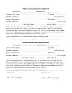 test drive form fill online printable fillable blank
