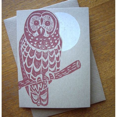 Lino Cut Cards by Lino Print Card By The Home Press Lino Printing