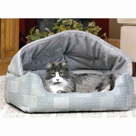 hooded cat bed hooded cuddle sleeper cat bed