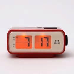 retro digital flip desk alarm clock watches