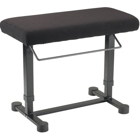 bench m k m 14081 uplift piano bench fabric black 14081 000 55 b h