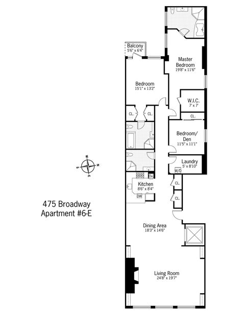 narrow apartment floor plans narrow apartment floor plans interior design ideas