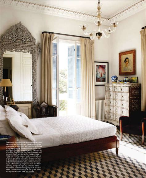 elle decor bedroom elle decor via coco kelley eclectic vintage bohemian