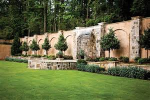 Backyard Fences And Decks Designing Landscapes With Water Amp Fire Elements Atlanta