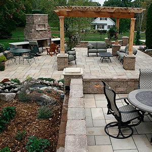retaining wall patio design outdoor patio designs landscaping and landscape design