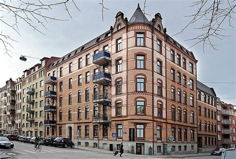 gothenburg building with cool scandinavian apartment decoist
