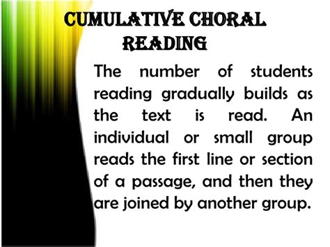 six line sonnet section choral reading for ece
