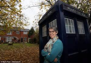 Tardis Garden Shed by Doctor Who S Tardis Used As Garden Shed By In