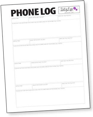 index card template call log freebie jeebie 005 binder project a slice of the