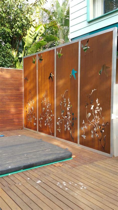 corten cladding architectural panel systems