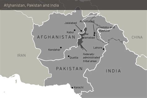 Afghanistan Pakistan Map Outline by From Kabul To Wagha To Dehli A Plot For Terror Consortium Pkkh Tv