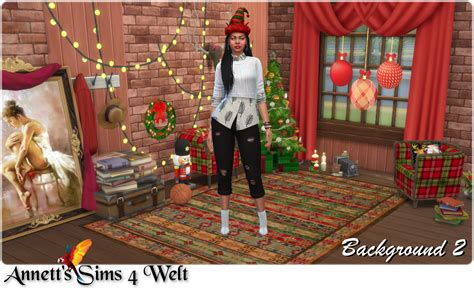 annetts sims  welt cas background christmas room