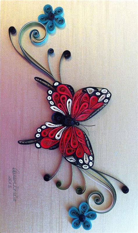 Paper Craft Quilling - 199 best quilling butterflies images on